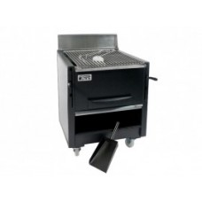 Gratar profesional barbeque pentru steak pe carbuni, 760x820x980 mm,