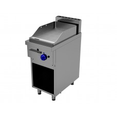 Grill Fry Top electric cu placa neteda si suport deschis Primax