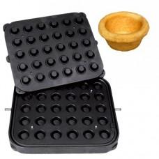 Placa aparat tarte, 30 forme rotunde 41mm