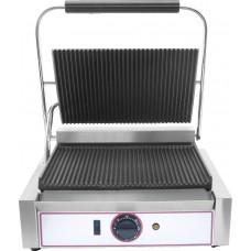 Contact grill simplu cu placi striate Beckers