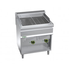 Gratar fry-top cu apa pe gaz 708×500 mm