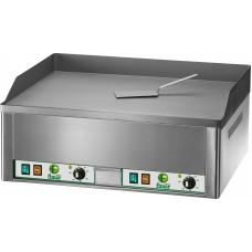 Grill fry top electric dublu suprafata neteda