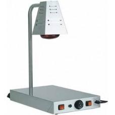 Banc de pastrare la cald a farfuriilor tip lampa cu infrarosii.