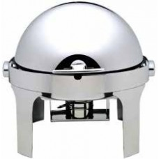 Chafing dish rotund cu capac rabatabil