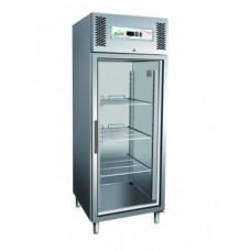 Dulap congelare din inox cu usa din sticla  650 litri