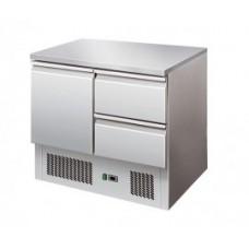 Masa frigorifica cu 1 usa si 2 sertare