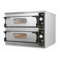 Cuptor Pizza Electric 2 Camere Coacere 9+9 Pizza
